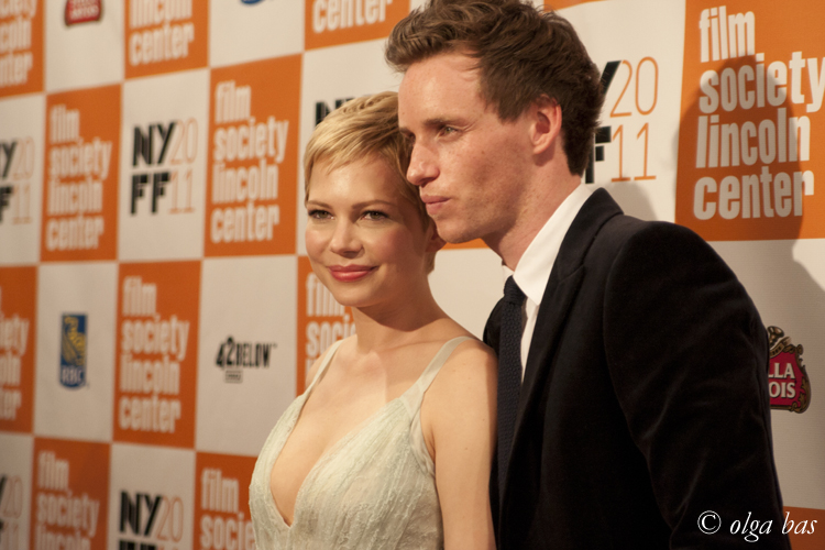 'My Week with Marylin' NYFF premiere; October 9th 2011